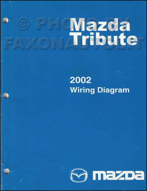 small resolution of 2002 mazda tribute wiring diagram manual original rh faxonautoliterature com 2002 mazda protege stereo wiring diagram