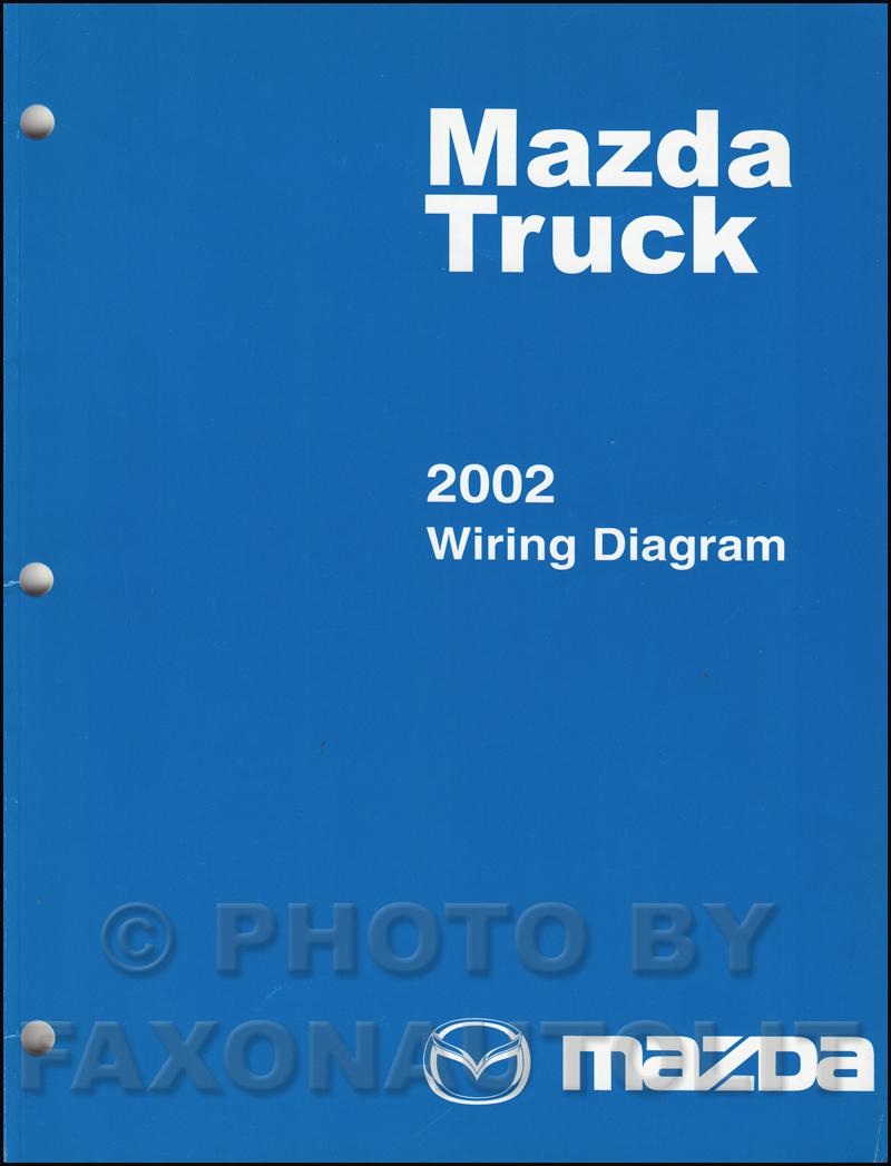 hight resolution of 2002 mazda truck wiring diagram manual original b2300 b3000 b4000 rh faxonautoliterature com 2002 mazda b3000