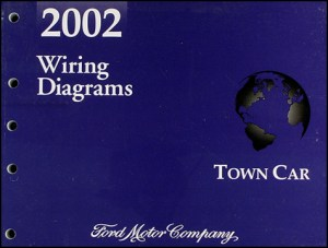 2002 Lincoln Town Car Original Wiring Diagrams