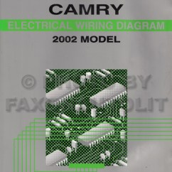 2002 Toyota Camry Wiring Diagram 2000 Jeep Grand Cherokee Ignition Manual Original