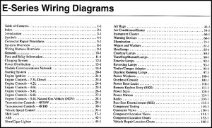 2003 Ford Econoline Van & Club Wagon Wiring Diagram Manual Original