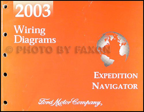 2003 ford expedition wiring diagram 2003 ford expedition lincoln navigator wiring diagram manual original sciox Images