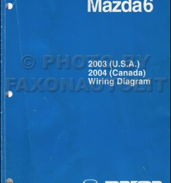 2003 mazda6 original wiring diagram and 2004 canada mazda 6  [ 800 x 1029 Pixel ]