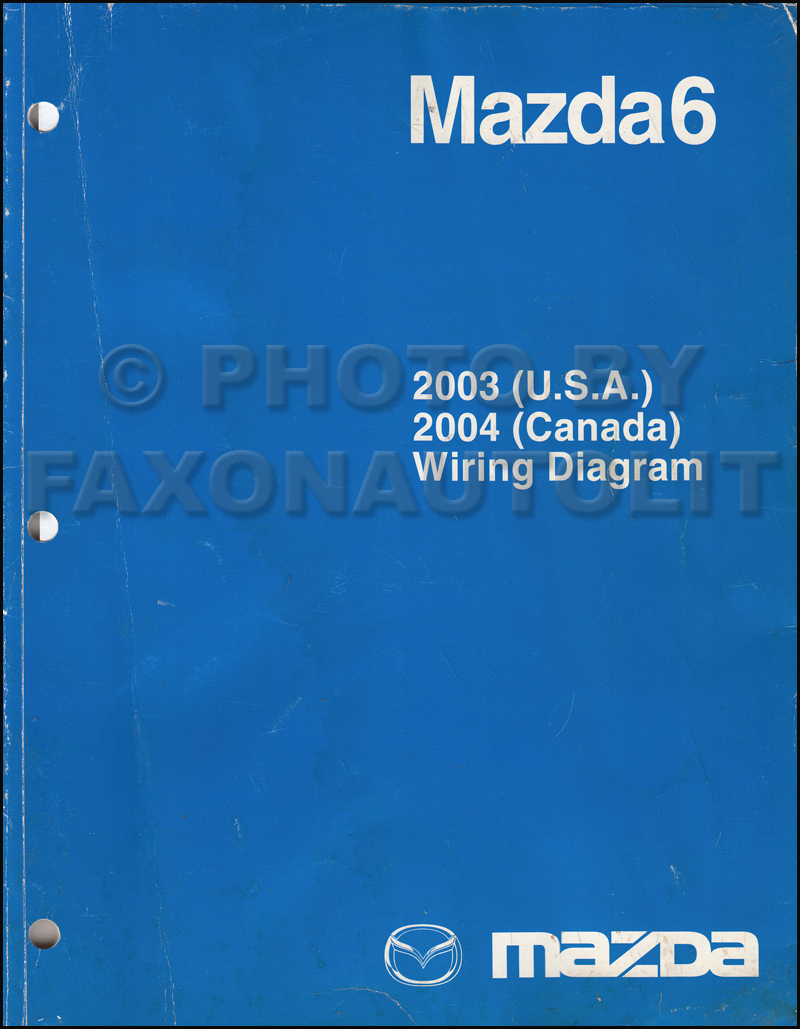 medium resolution of 2003 mazda6 original wiring diagram and 2004 canada mazda 6