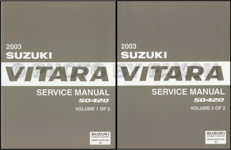 1999 Suzuki Vitara Grand Vitara Wiring Diagram Original