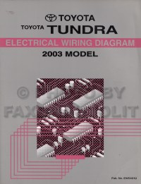 2003 Tundra Wiring Diagram, 2003, Free Engine Image For ...