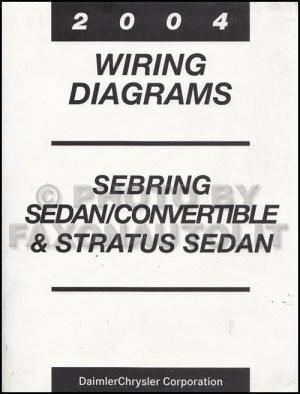 2004 Mopar Stratus Sebring SedanCovertible Wiring Diagram
