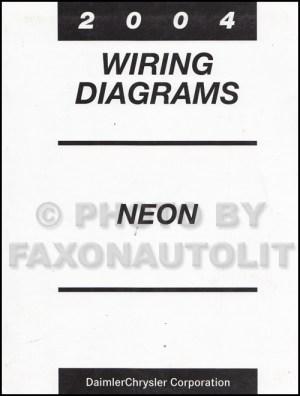 2004 Dodge Neon Wiring Diagram Manual Original