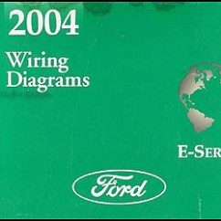 2004 Ford E350 Wiring Diagram Weg Single Phase Motor Econoline Van Club Wagon Manual Original