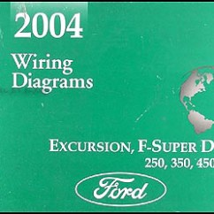 2004 Ford F250 Stereo Wiring Diagram 2003 Gmc Sierra Bose Schematic Great Installation Of Excursion Super Duty 550 Manual Original Rh Faxonautoliterature Com Diesel