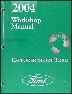 2004 Ford Explorer Sport Trac Wiring Diagram Manual Original