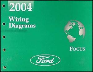 2004 Ford Focus Wiring Diagram Manual Original