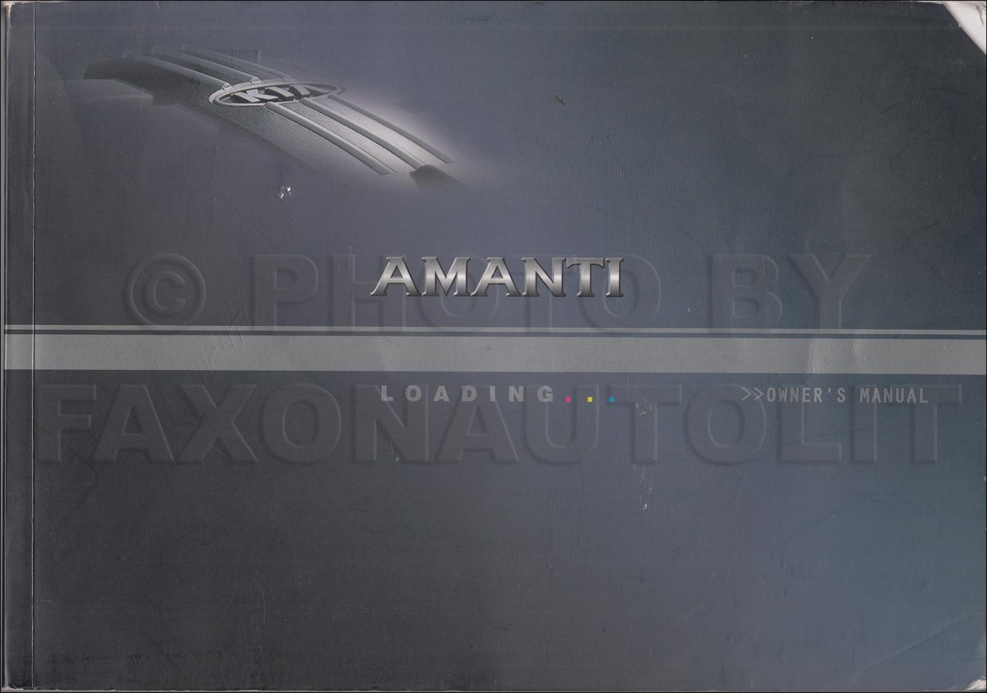 2004 Kia Sedona Electrical Troubleshooting Manual Original