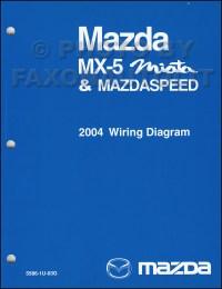 2004 Mazda MX-5 Miata Mazdaspeed Wiring Diagram Manual ...