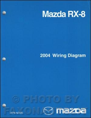 2004 Mazda RX8 Wiring Diagram Manual Original RX8
