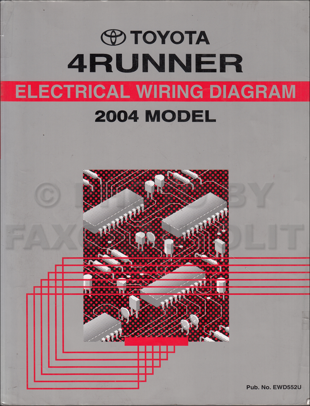 medium resolution of starter wiring diagram 99 toyotum 4runner
