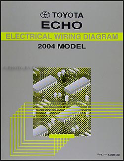 2004 Toyota Echo Wiring Diagram Manual Original