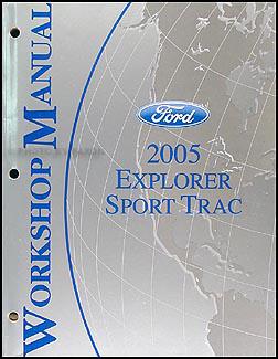 2005 Ford Explorer Sport Trac and Explorer Sport Wiring Diagram Manual