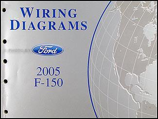 2005 Ford F 150 Wiring Diagram Manual Original