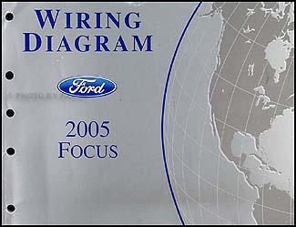 2005 Ford Focus Wiring Diagram Manual Original
