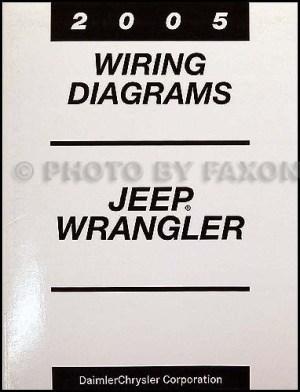 2005 Jeep Wrangler Original Owner's Manual