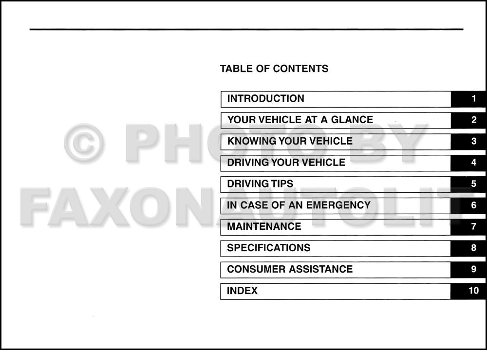 2005 Kia Optima Owners Manual Original