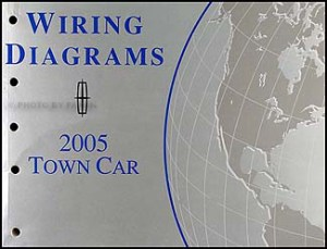 2005 Lincoln Town Car Original Wiring Diagrams