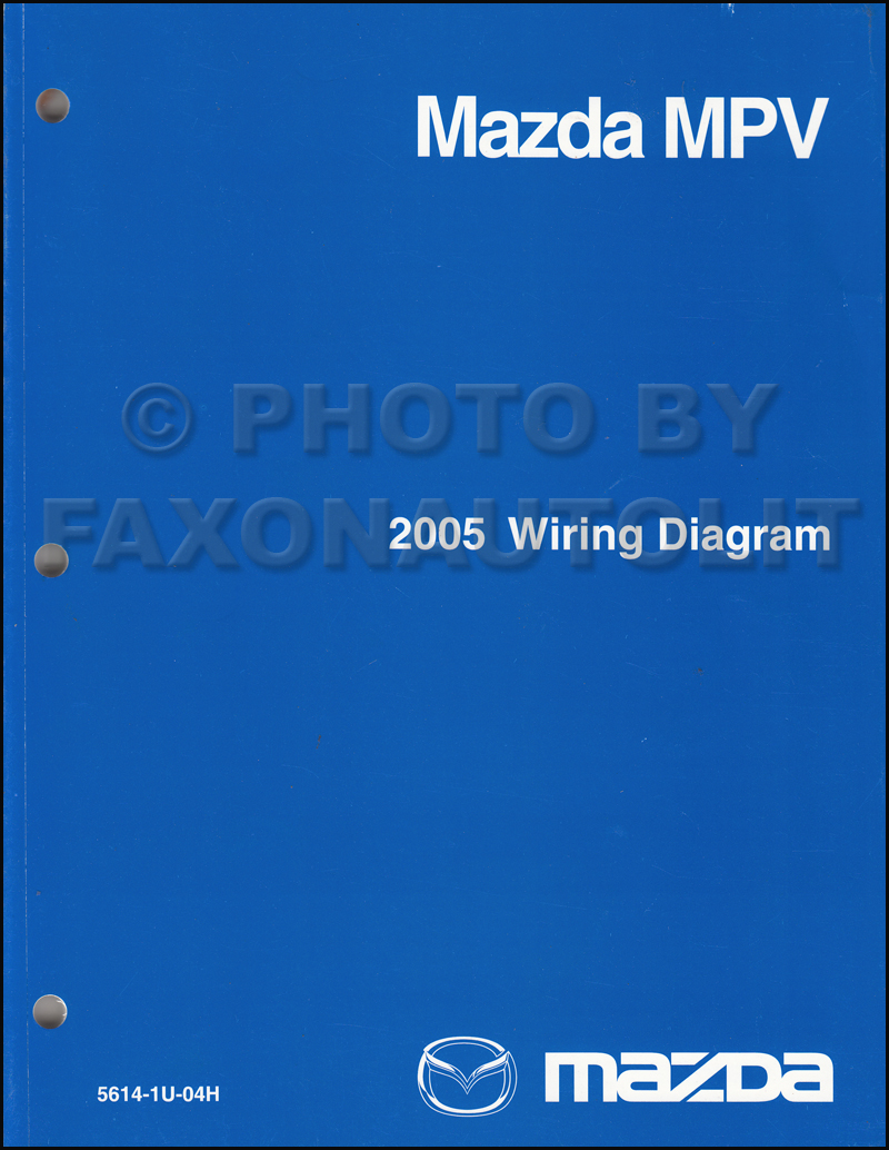 medium resolution of 1995 mazda mpv wiring diagram