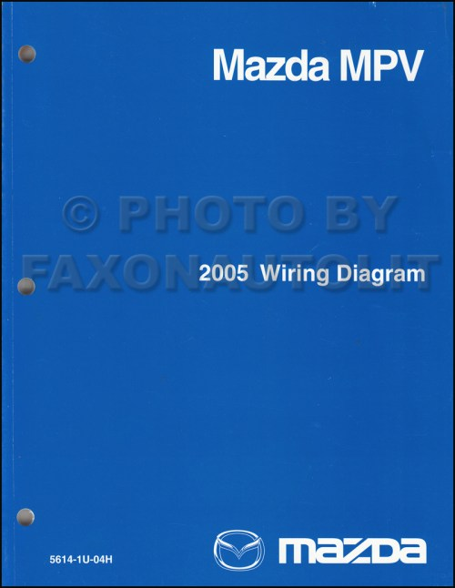 small resolution of 1995 mazda mpv wiring diagram