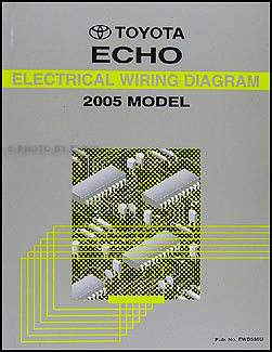 20002005 Toyota Echo Body Collision Repair Shop Manual