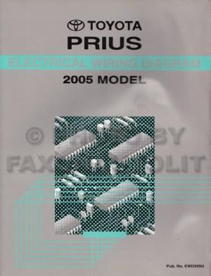 20042008 Toyota Prius Body Collision Repair Shop Manual