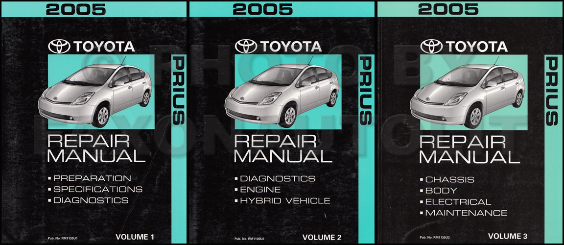 2001 Toyota Prius Wiring Diagram Manual Original Toyota Books