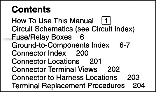 2006-2007 Honda Pilot Original Electrical Troubleshooting