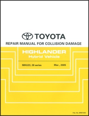 2006 Toyota Highlander Wiring Diagram Manual Original Hybrid