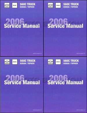 2006 Topkick & Kodiak C4500C8500 Repair Shop Manual