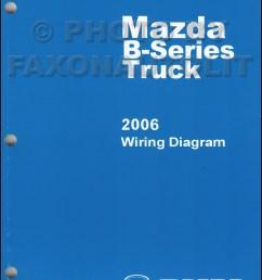 2006 mazda bseries pickup truck wiring diagram manual original b2300 [ 800 x 1030 Pixel ]