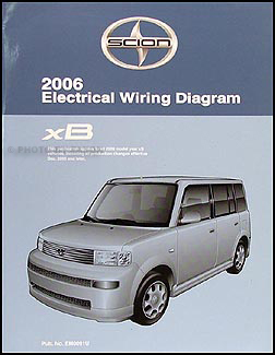 2006 Scion xB Wiring Diagram Manual Original