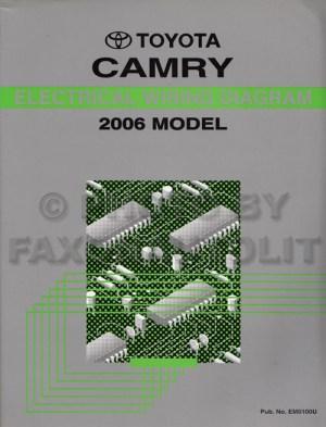 2006 Toyota Camry Wiring Diagram Manual Original