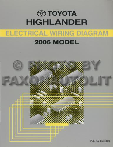 2006 Toyota Highlander Radio Wiring Diagram Wiring Diagram Photos