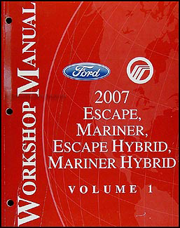 2007 Ford Escape and Mercury Mariner Wiring Diagram Manual