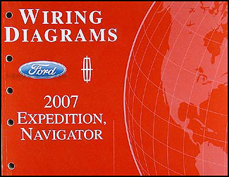 2007 Ford Expedition Lincoln Navigator Wiring Diagram Manual Original