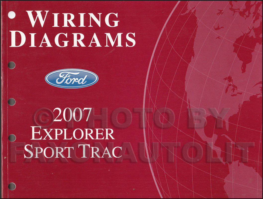hight resolution of 2007 ford explorer sport trac wiring diagram manual original rh faxonautoliterature com 2007 ford explorer wiring