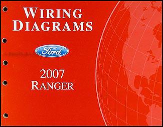 2007 Ford Ranger Wiring Diagram Manual Original