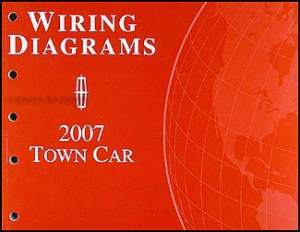 2007 Lincoln Town Car Original Wiring Diagrams