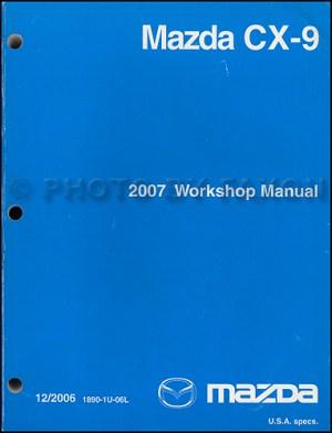 2007 Mazda CX9 Wiring Diagram Manual Original
