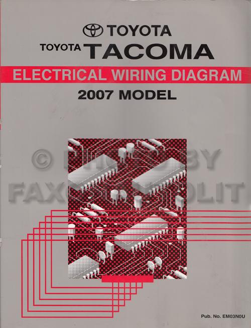 toyota rav4 parts diagram of a tree 2007 tacoma pickup wiring manual original