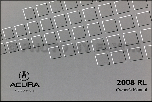 2005-2008 Acura RL Repair Shop Manual Original 2 Volume Set