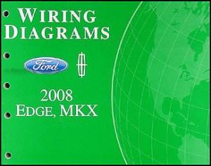 2008 Ford EdgeLincoln MKX Wiring Diagram Manual Original