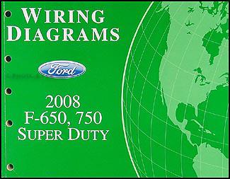 electrical wiring diagram ford f650 2006 dodge ram standard radio 2008 f750 super dutytruck manual original