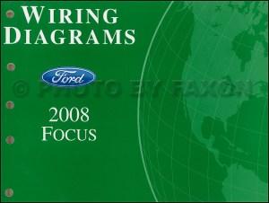 2008 Ford Focus Wiring Diagram Manual Original